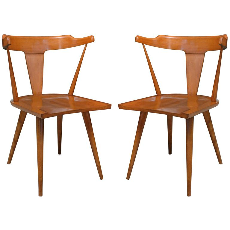 Superbe Pair Of Maple Arm Chairs By Paul McCobb | From A Unique Collection Of  Antique And Modern Chairs At Https://www.1stdibs.com/furniture/seating/ Chairs/
