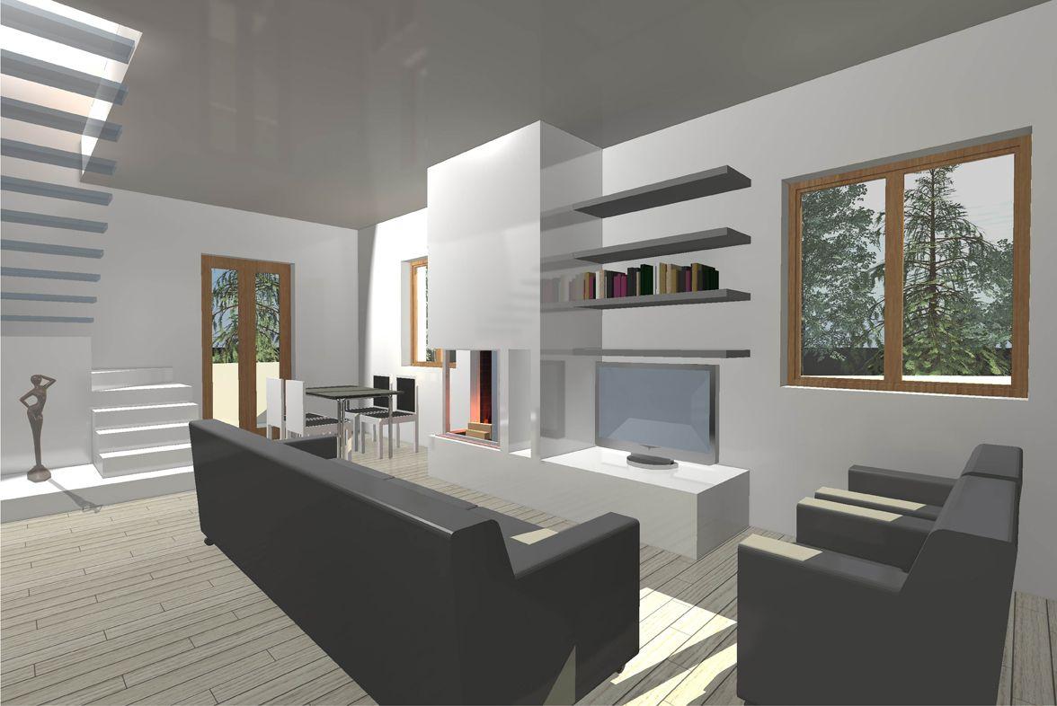 Rendering Soggiorno ~ Livingroom d relooking render soggiorno