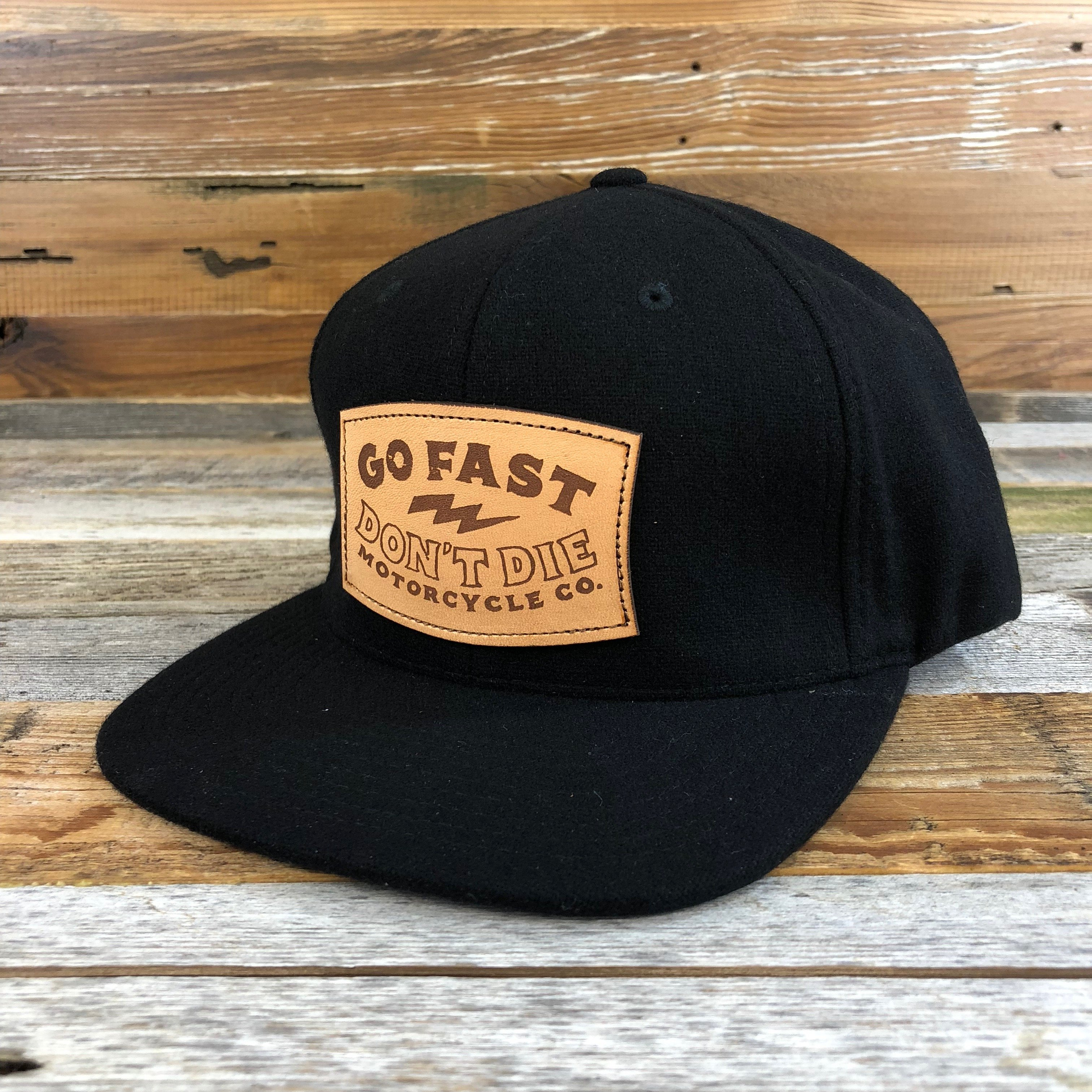 c800061b GFDD Leather Patch Hat in 2019   Products   Patches, Hats, Leather