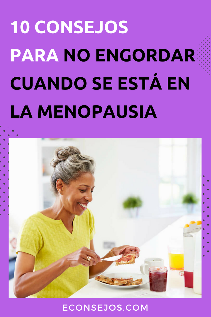 menopausia y peso ideal