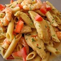 Spicy Cajun Pasta by Kelsey