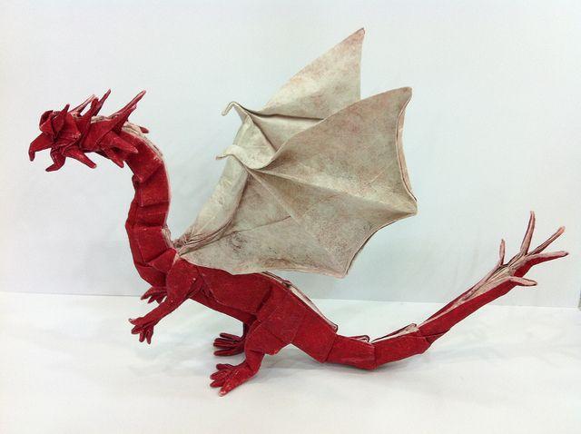 Simple Dragon - Shuki Kato   Author: Shuki Kato Diagram: Int…   Flickr   478x640