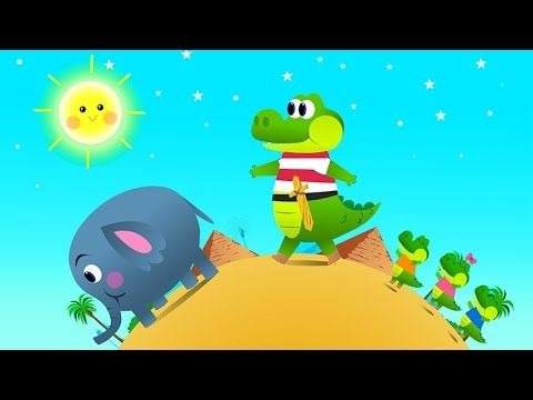 Ah les crocodiles en fran ais comptines comptine enfant maternelle chanson crocodile - Dessin anime les crocodiles ...