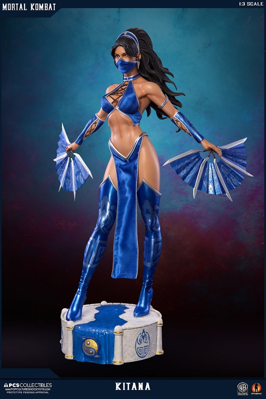 PCS Update For Mortal Kombat Kitana and Mileena Statues - The Toyark