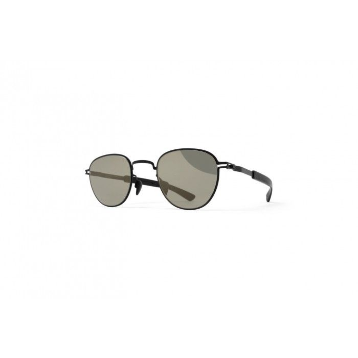 fd32bb2dee42 MYKITA BASIL MH1 BLACK PITCH BLACK GUN METAL FLASH 3502149