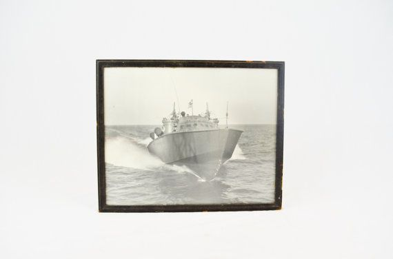 Vintage WWII PT Boat Photograph by LuccaBalesVintage on Etsy, $40.00