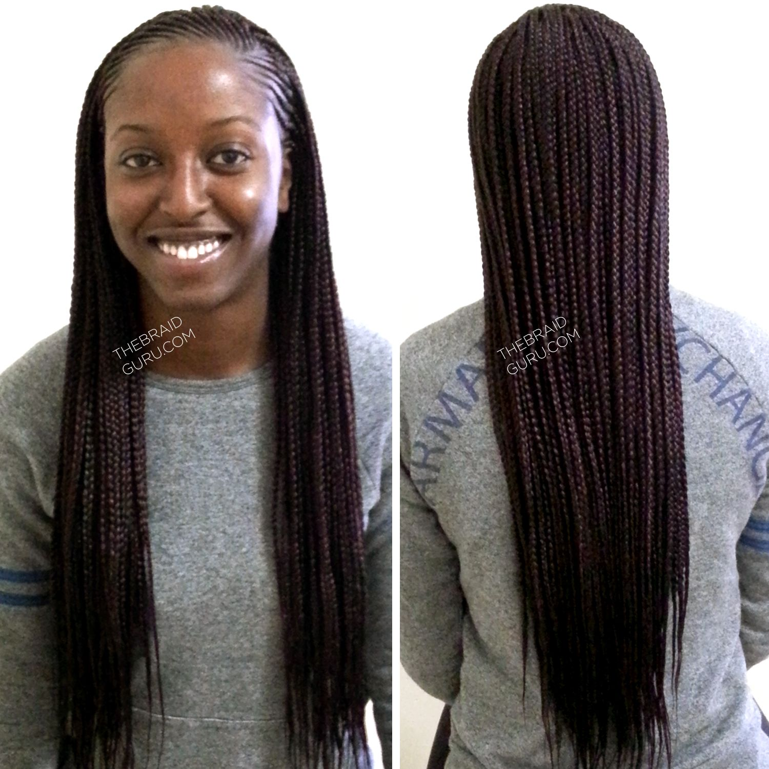 Feed In Cornrows With Individuals Extra Longids By The Idguru Com