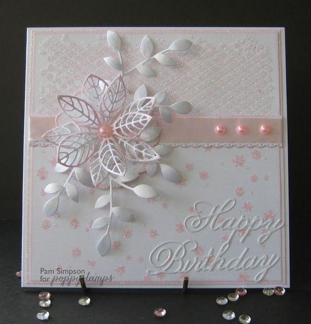Birthday Cards Handmade Female Flower