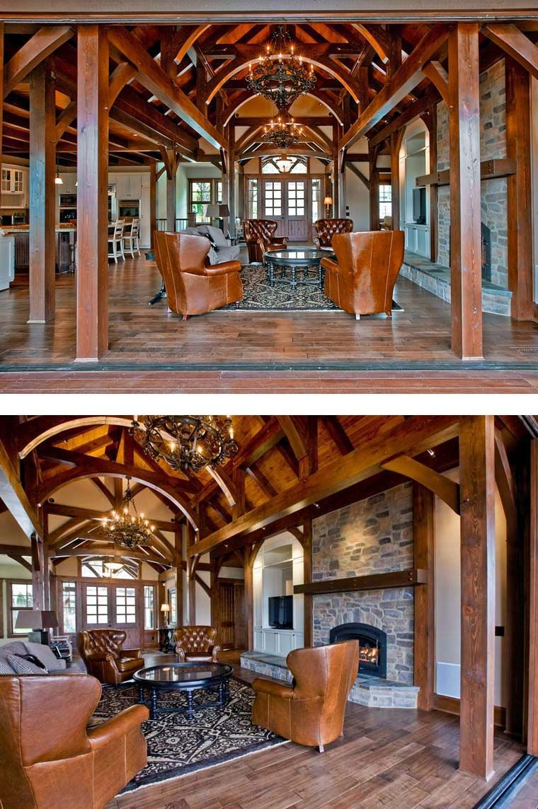 craftsman house plan 87400 barn house plans mountain houses and
