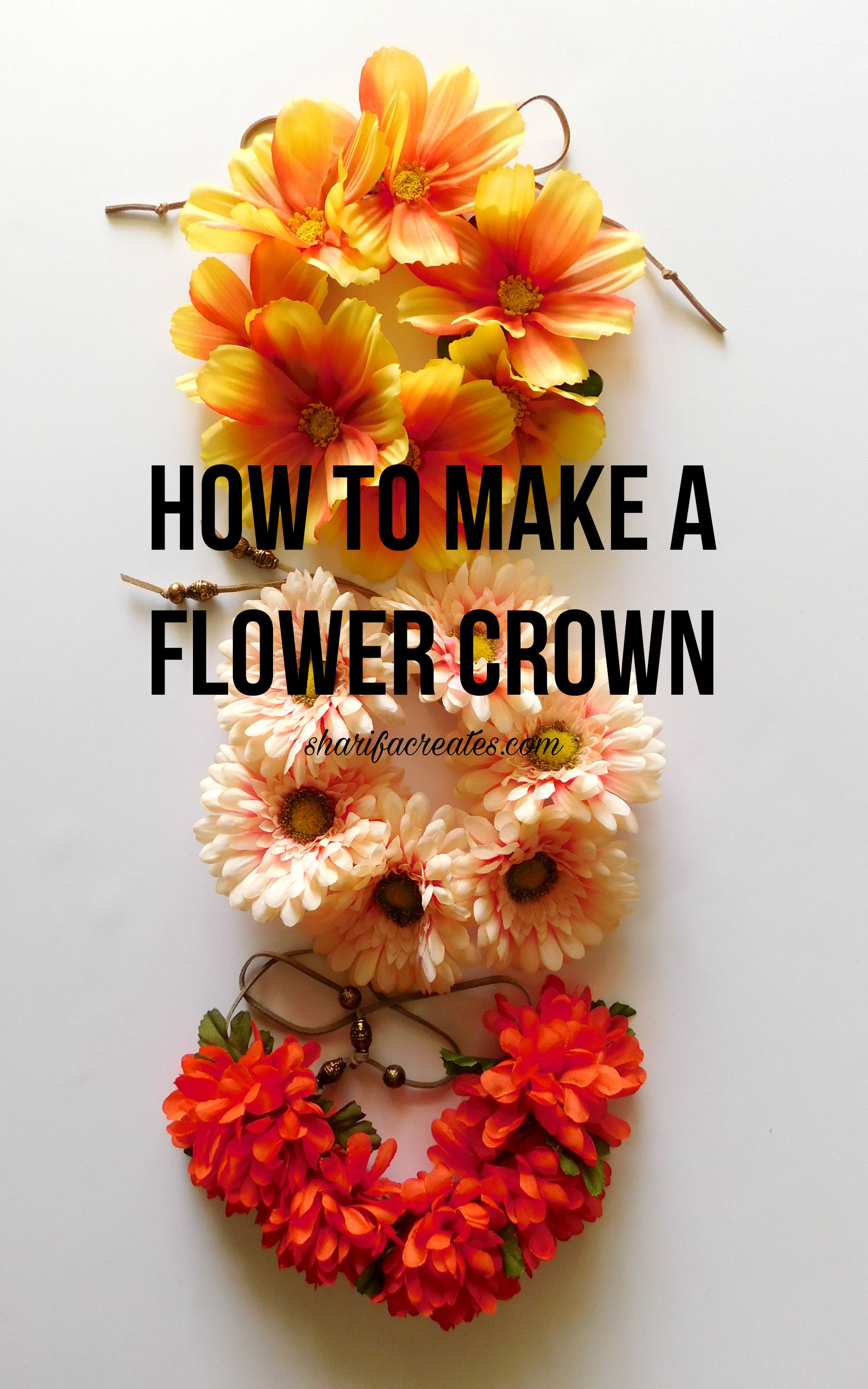 Learn how to make a flower crown in this easy do it yourself learn how to make a flower crown in this easy do it yourself tutorial izmirmasajfo