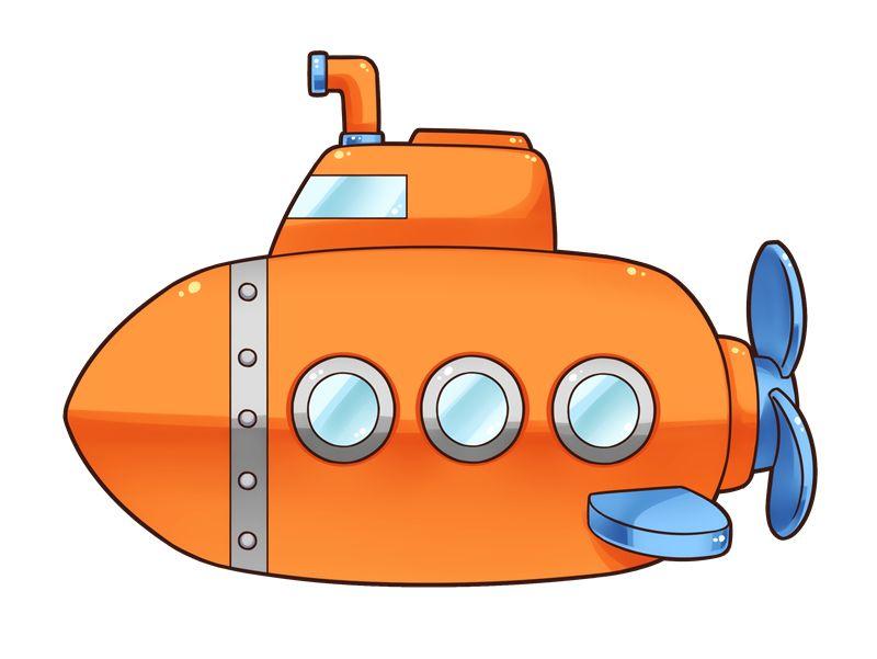Submarine | VBS 2016 - Clip Art & Scenes | Submarine craft ...