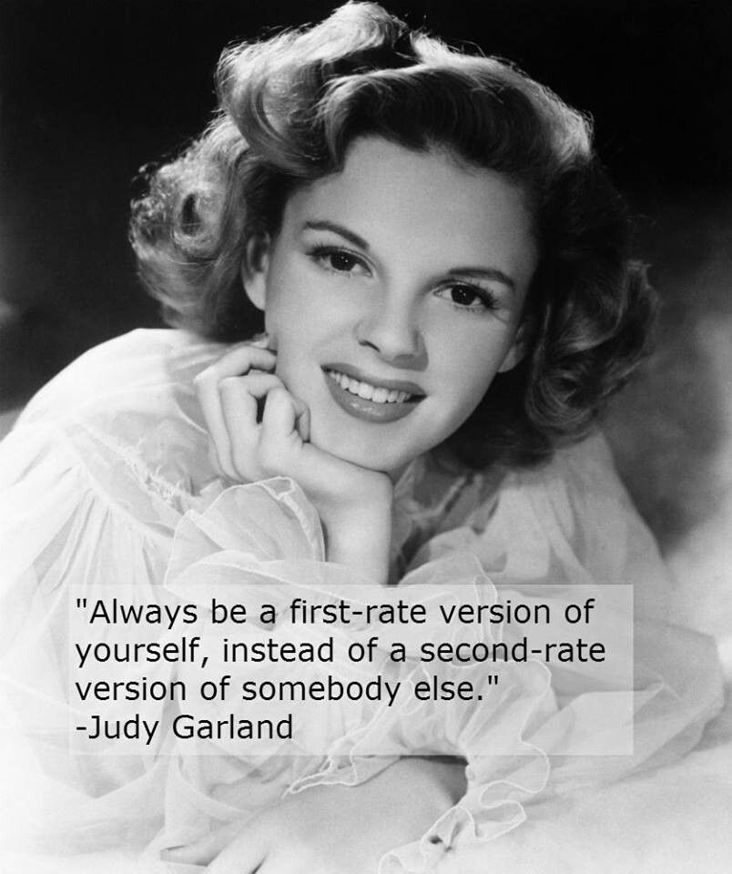 Judy Garland :)