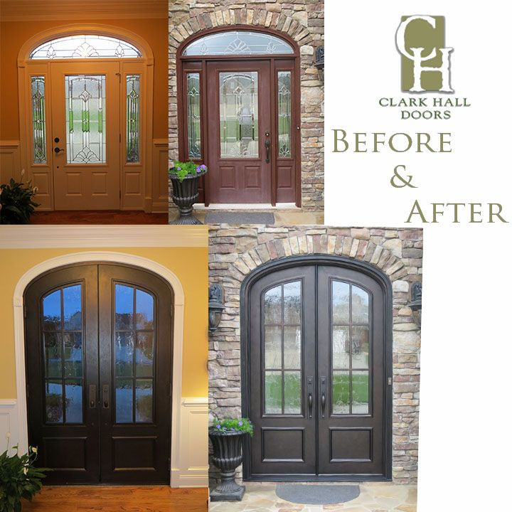 Before And After Of A Front Door In Charlotte Nc Before After