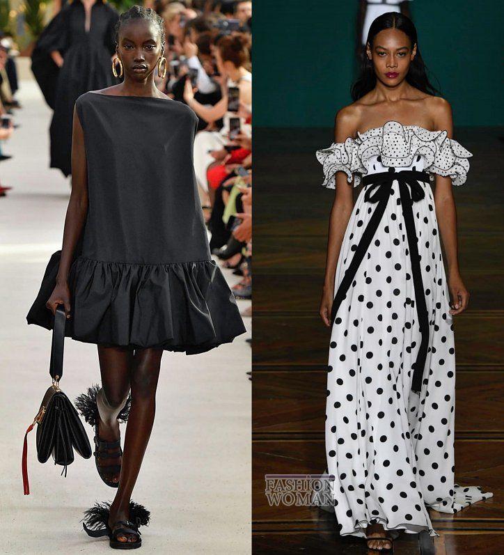 ba50fbad576 Dress Trends Spring-Summer 2019    Платья весна-лето 2019 - основные  тенденции