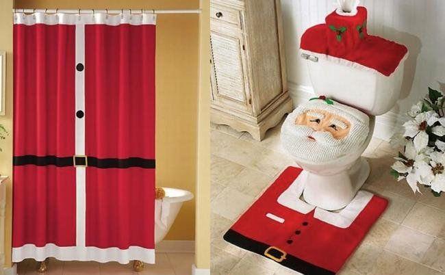 Resultado de imagen para como decorar cortinas para la navidad ...