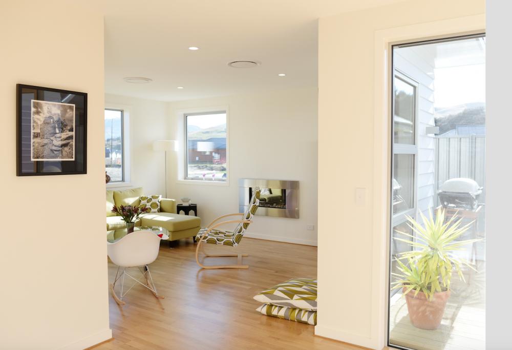 Minimalist Interior Design Open Plan Living Room Modern Family Home ...