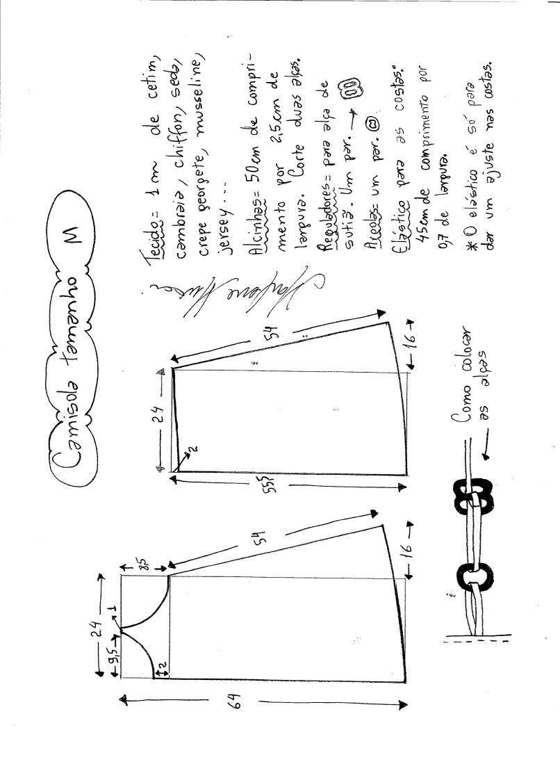 Patrón de camisón | mio mio | Pinterest | Patrón de camisón ...