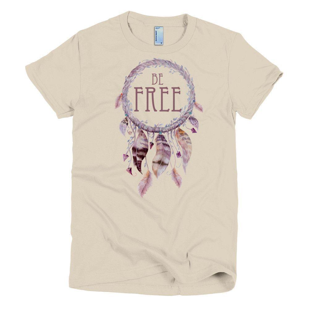 Be Free Dreamcatcher - Short sleeve WOMEN'S t-shirt