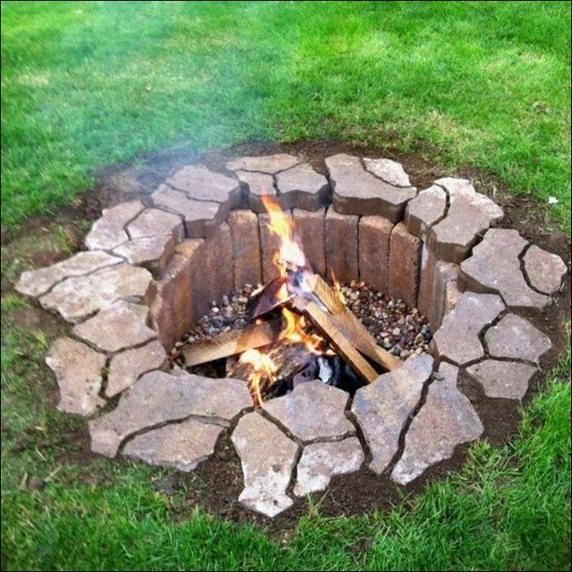 feuerstelle bauen | gardening | pinterest | gartengrill selber, Hause und Garten
