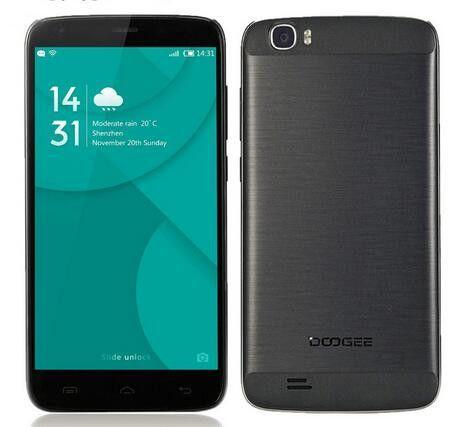 Doogee T6 pro mobile phones 5.5Inch HD 3GB RAM+32GB ROM Android6.0 Dual SIM MTK6753 Octa Core 13.0MP 6250mAH WCDMA LTE WIFI GPS
