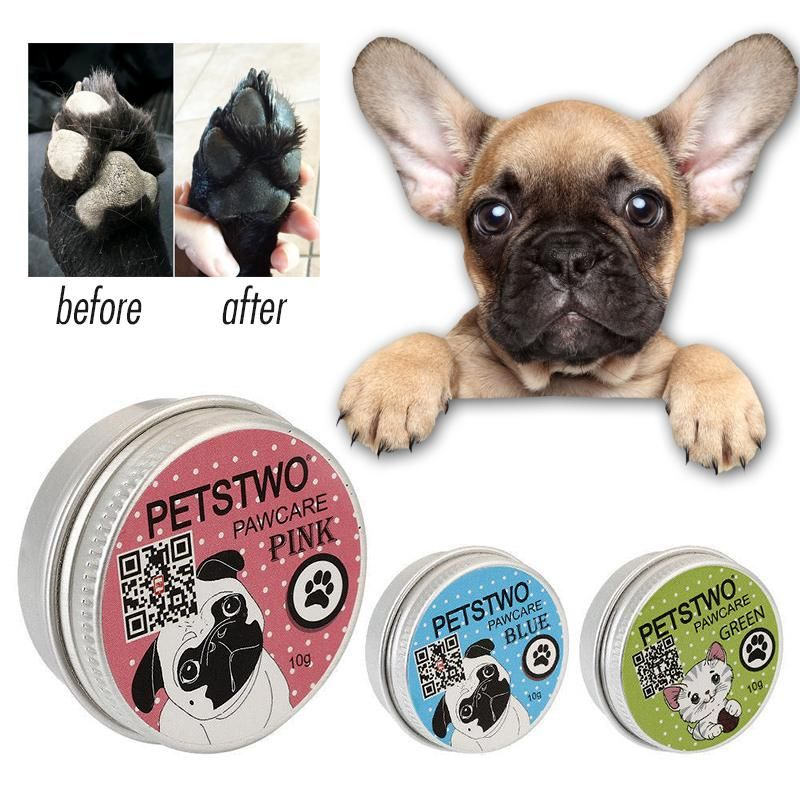 Silky Paws Balm By Frenchie World French Bulldog Blue French