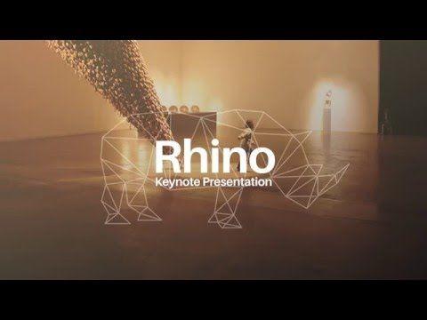 Rhino Keynote Presentation Template on Behance
