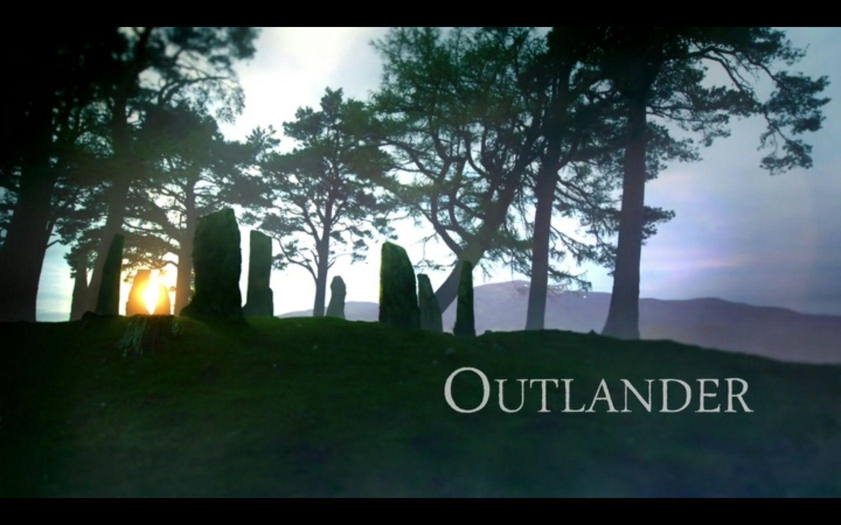 Outlander Tv Series Opening Shot Of Craigh Na Dun Outlander