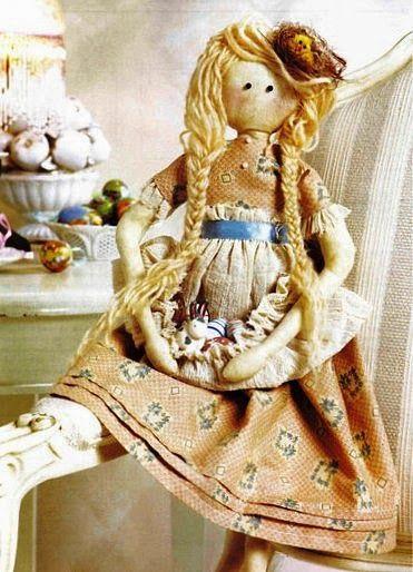 Mimin Dolls: menina com flores