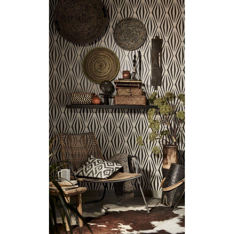 Matière du papier peint:Vinyle expansé Support du papier peint:Intissé Aspe... | Installation ...