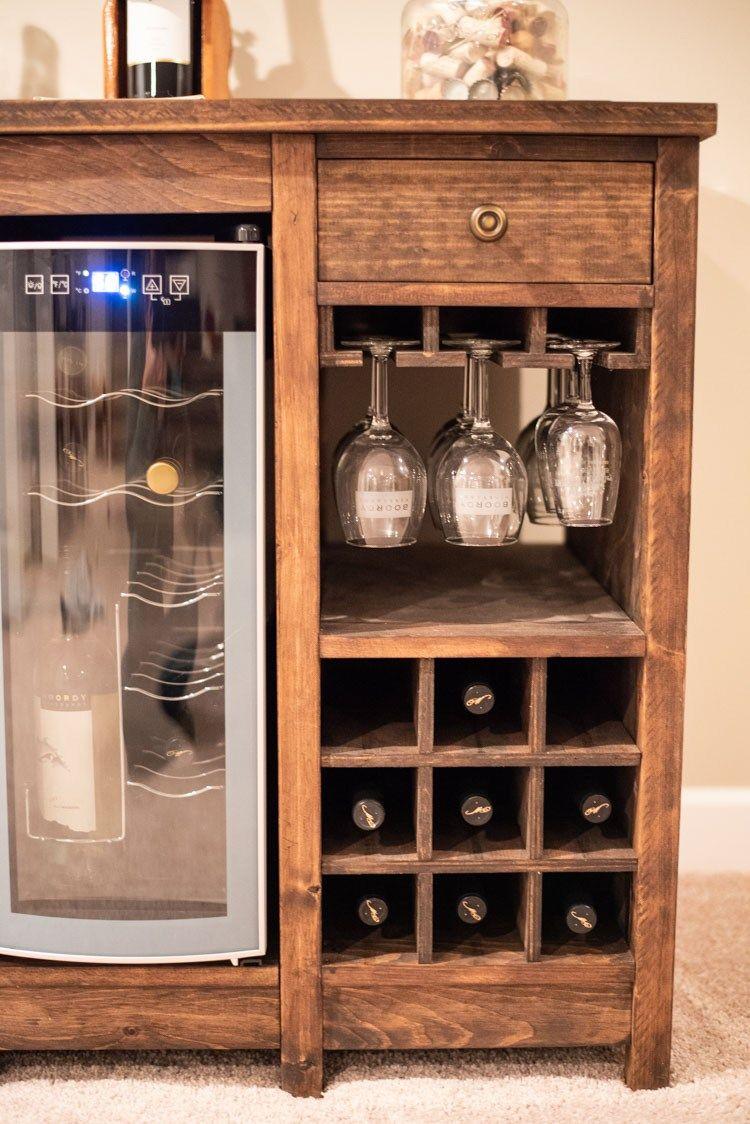 Wine Cooler Cabinet Wine Cabinet Diy Wine Shelves Wine Fridge