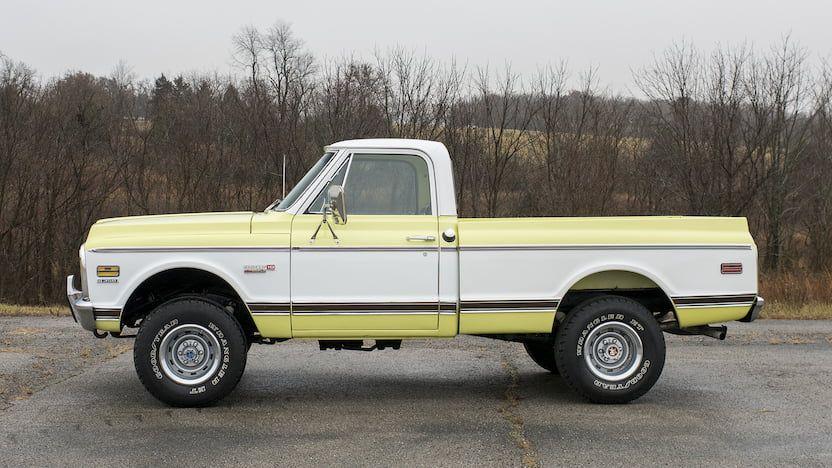 1971 Chevrolet Cheyenne Pickup F71 Kissimmee 2020 Chevrolet Gmc Trucks Cheyenne