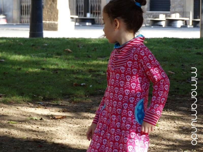 Schnittmuster / Ebook lillesol basics No.46 Winterkombi Kleid & Shirt / Nähen Kleid / Sewing pattern winter dress & shirt