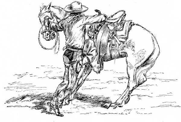 Mounting-a-Horse-draw.jpg (600×406) | Color: Horses/Rodeo! | Pinterest