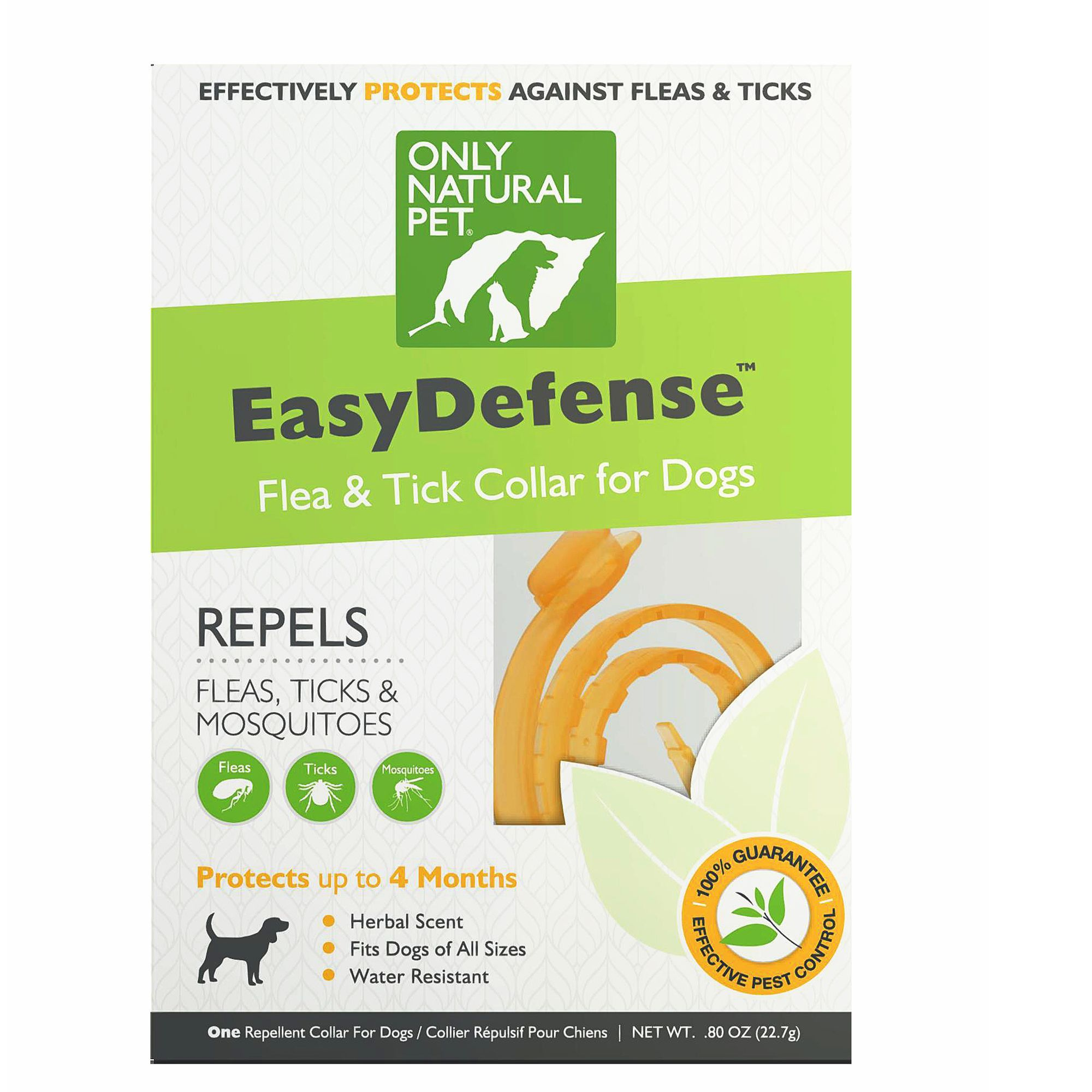 Only Natural Pet Easydefense Dog Flea Tick Mosquito Collar