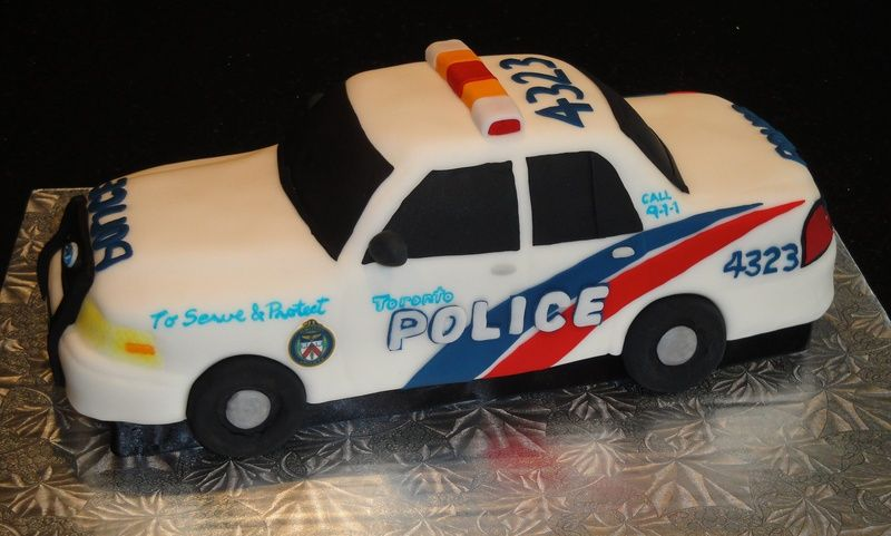 Police Car Cakes Pictures Galleries Say It With Cake
