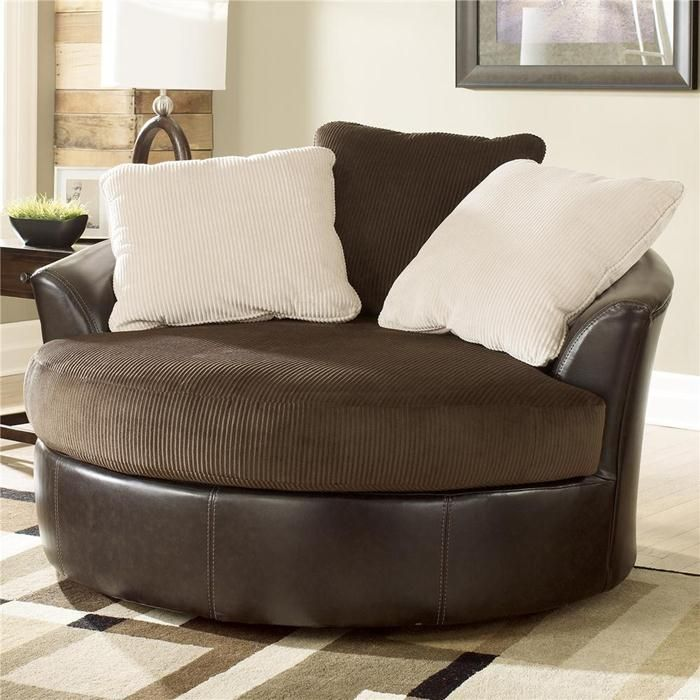 Best Nebraska Furniture Mart – Ashley Oversized Round Swivel 400 x 300