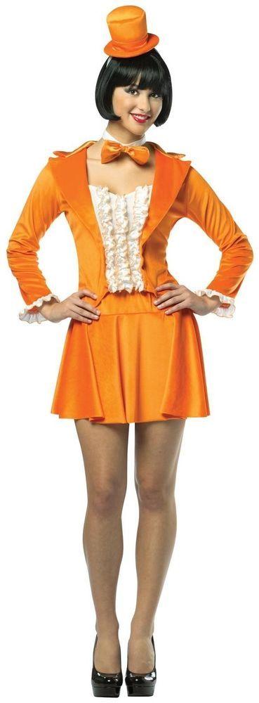 Sexy Orange Dumb and Dumber Lloyd Christmas Adult Tuxedo Dress ...