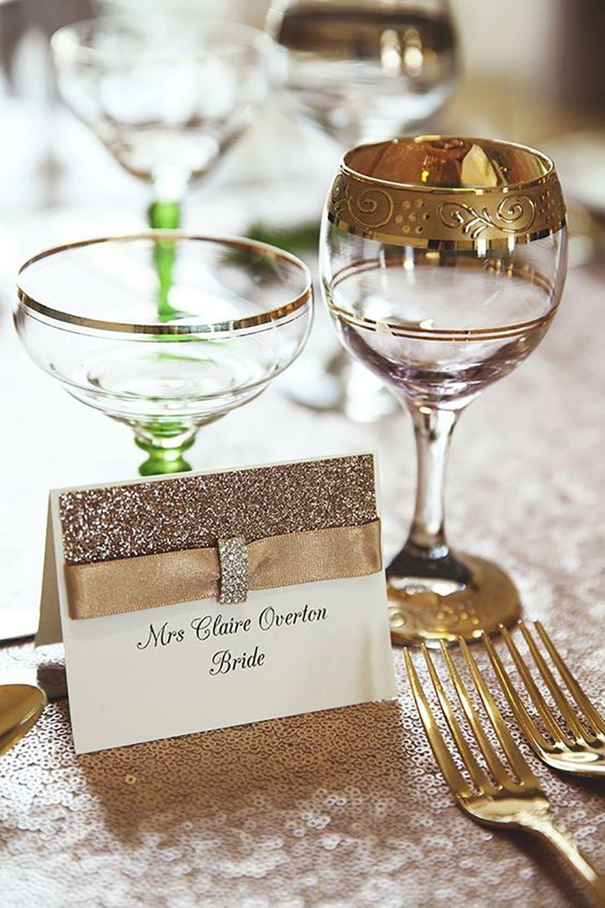 Wedding Ideas by Colour: Gold Wedding Decorations | CHWV | 20\'s ...