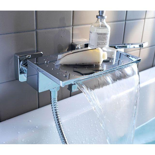 Mitigeur bain-douche mécanique Cascada - CASTORAMA | H.O.M.E ...