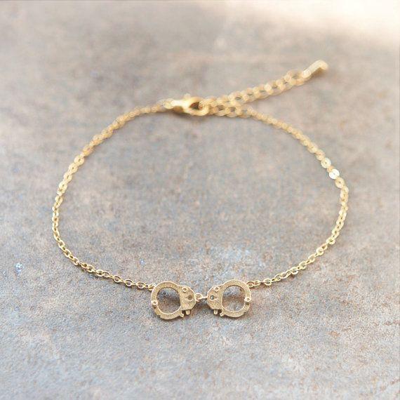 Handcuff Bracelet by laonato on Etsy, $15.00