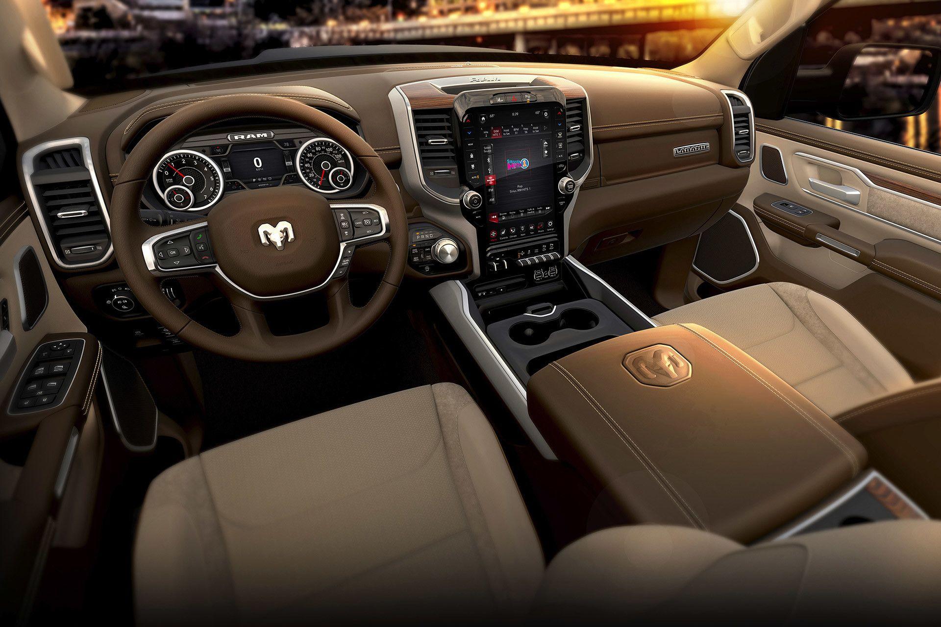 Dodge Ram 2020 Interior Overview In 2020 Dodge Ram Ram 1500 2019 Ram 1500