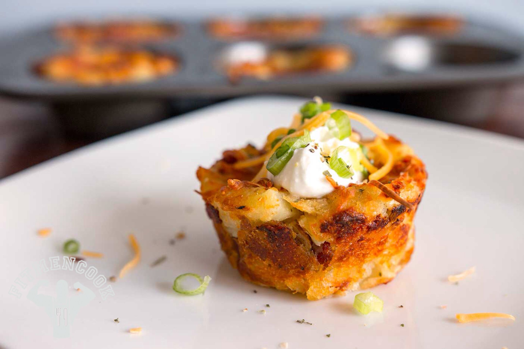 Try this Mashed Red Potato Cups from the FitMenCook app
