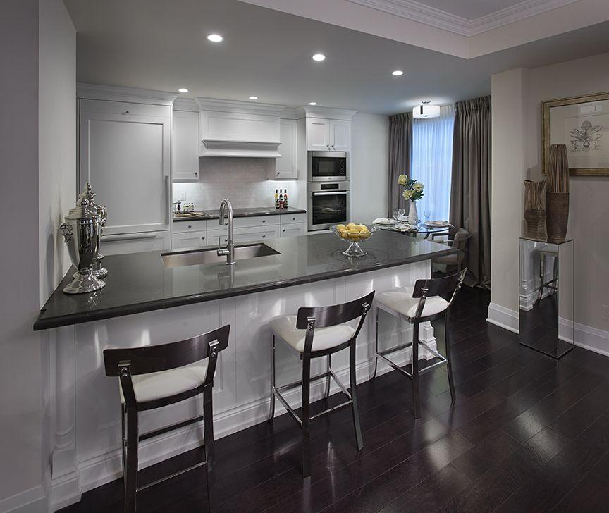 Huntington Kitchen: Model Suite Kitchen At #Blythwood At Huntington
