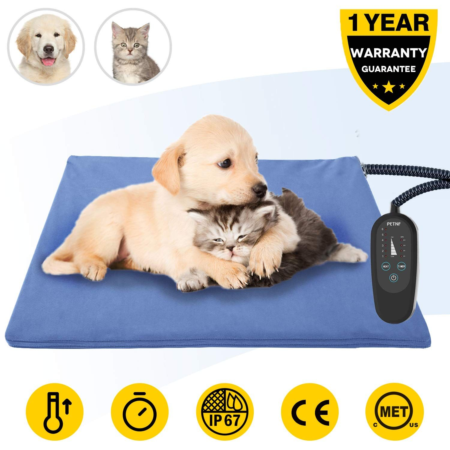 Upgrade Pet Heating Pad With Tim Pet Heating Pad Indoor Pets Dog Bed Mat
