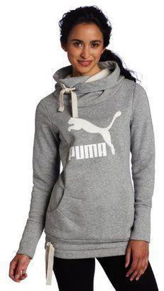afa8dd8fd9dd PUMA Women s Me Ll Logo Hoodie