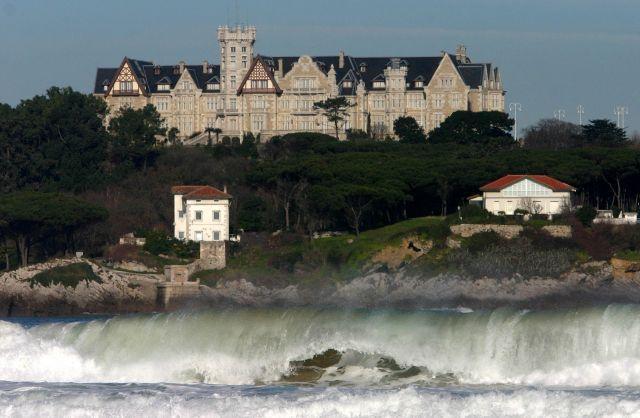 Palacio De La Magdalena Santander Cantabria Paisajes