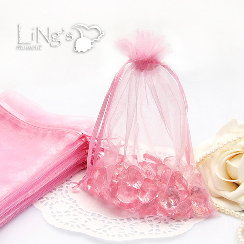 50 Organza Gift Bags 3x4 4x6 5x7 Wedding Christmas Party Favor ...