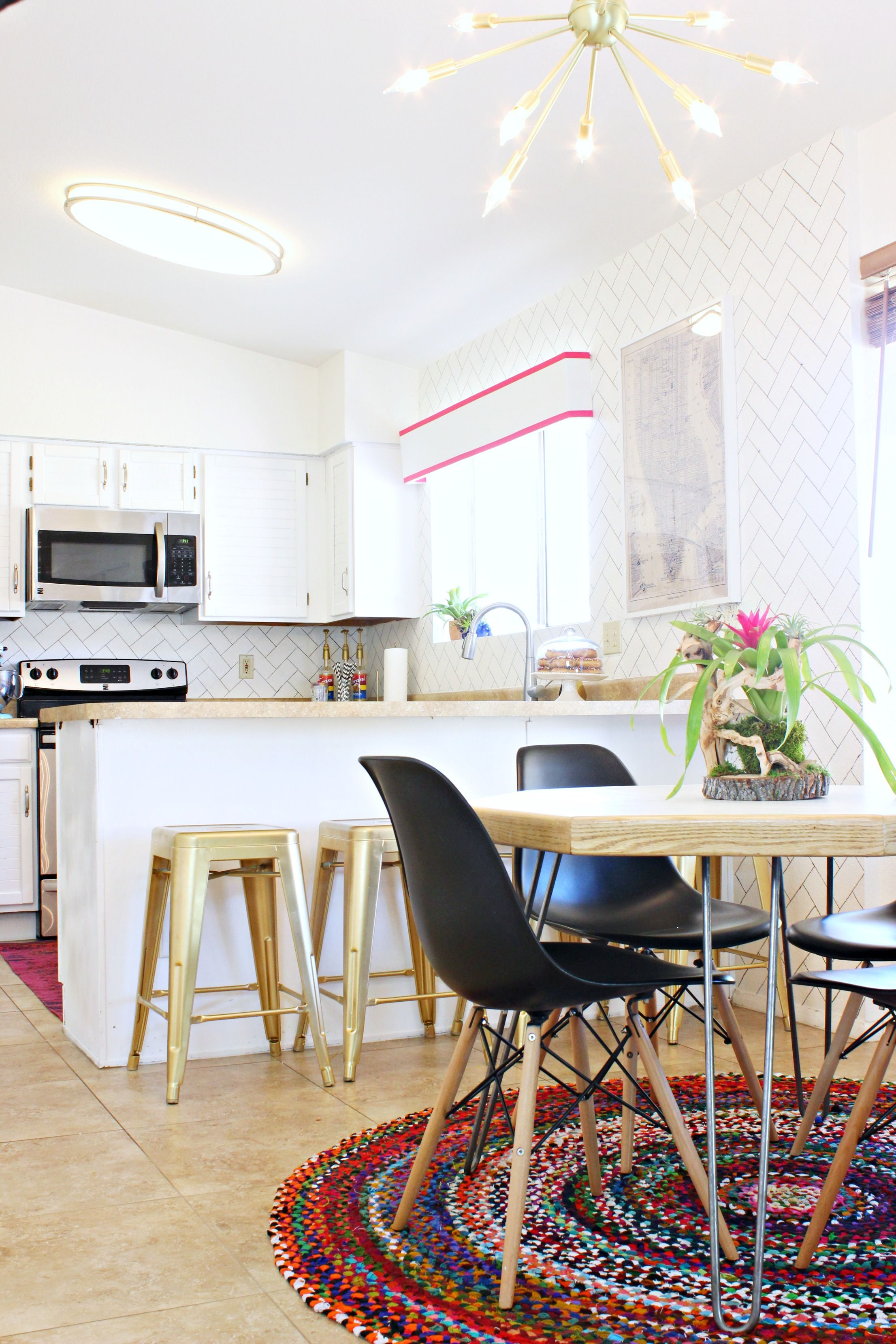 Spray paint for kitchen cupboards   Fabulous Projects to Spray Paint Gold  DIY Home Improvement