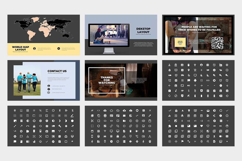 Ad Adiva Fundraising Google Slides by punkl. on
