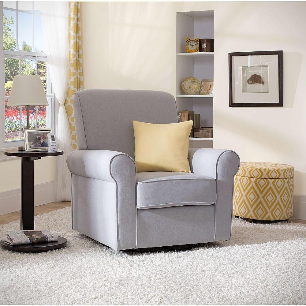 delta avery nursery glider chair grey first class special needs children upholstered products pinterest